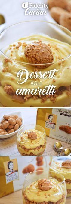 Il dessert agli amaretti è un dolce goloso, cremoso e dal profumo irresistibile di caffè e amaretti. Ecco la ricetta ed alcuni consigli
