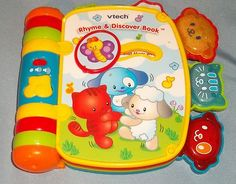 Vtech Rhyme Discover Book Reads Singing Music Toy Electronic   eBay $3.99