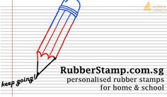 Personalised rubber stamps that is great for home & school use. 3 different ink colors for you to choose from! Head over to http://www.rubberstamp.com.sg/ now!