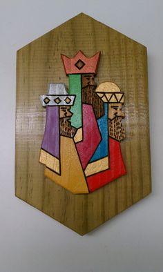 3 Reyes Magos – Pared Artesanías Borikén   Artesania Puertorriqueña Artesanías Borikén