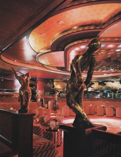 Club A, New York, New York From Dining By Design (1985)