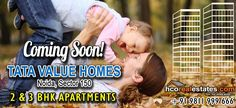 Tata Value Homes Noida Sector 150 tata value homes is upcoming project in destination 150 noida. there is affordable housing segment in the form of 2 BHK and 3 BHK for the people. it us close to Amity University and Gautam Buddha University , malls , hotels and restaurants are also there.