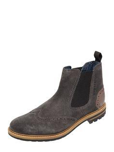 Bei ➧ P&C Chelsea boots von BUGATTI-MAN ✓ Jetzt BUGATTI-MAN Chelsea Boots aus Leder in Grau / Schwarz online kaufen ✓ 4036797