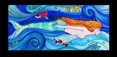 My painting by Beatrice Bortoletti, via Behance