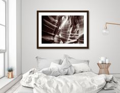 Discover «Waves of sandstone at Antelope Canyon», Numbered Edition Fine Art Print by Daniela Constantinescu - From $19 - Curioos