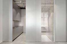 Apartment SP is a minimal interior located in Ljubljana, Slovenia, designed by SADAR+VUGA