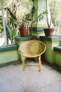 Freunde von Freunden — Nina Johnson & Dan Milewski — Artist & Gallery Owner, House, Shorecrest Neighborhood, Miami  — http://www.freundevonf...