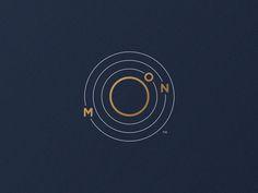 Moon Logo (Orbit) by Jorge Rico