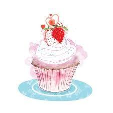 نتيجة بحث الصور عن cupcake illustration tumblr