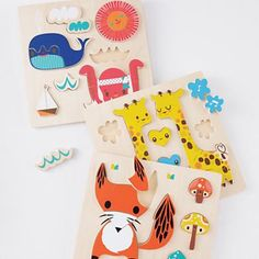 Kids Puzzles: Fox Animal Puzzle in Toddler Gifts