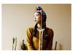 Cárdigan Andes ₪ R I T U A L ₪ Towanda! Otoño/Invierno 2015  #knitwear #origami #cardigan