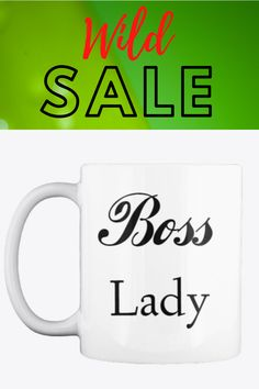 With one-of-a-kind designs exclusive to our mugs With your Boss lady Coffee Tea Mug, it is our hope that you will be encouraged to take on the day like the boss that you are. #coffemug #teacup #bosslady