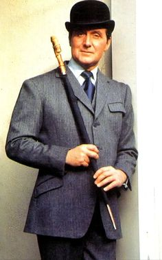 """STEED The Steed character from the 1960 British TV show """"The Avengers"""" had a men's style most popular at the time. But one almost forgotten in the memory of the  radical London MOD/ Carnaby Street  fashion trend of the era."""