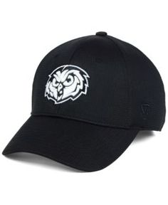 Top of the World Temple Owls Completion Stretch Cap - Black M/L