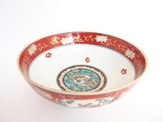 Vintage Japanese Handpainted Medium Bowl by BelleBloomVintage