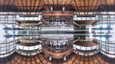 Taisya station.(Old) 360-degree panorama at any multi-plane.