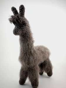 Fluffy the alpaca llama amigurumi crochet pattern amigurumi have the pattern on my todo list dt1010fo