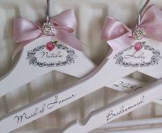 Bride Personalised Wedding, Bridal, Bridesmaid , Prom Coat Hangers in Home, Furniture & DIY, Wedding Supplies, Other Wedding Supplies | eBay!