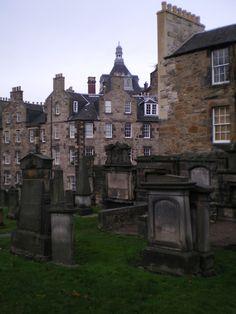 Graveyard, Edinburgh - November 2011