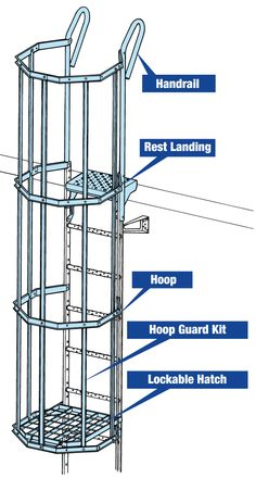 Welded Metal Projects, Safety Ladder, Portable Generator, Fire Escape, Tool Steel, Ladders, Welding, Metals, Projects To Try