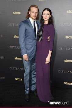 Outlander Spanish™ @OutlanderSpain  ·  4/1/15 Sam Heughan y Caitriona Balfe :) #TartanAffair #Outlander