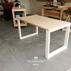 Image of Williamsburg Study Table / Plywood