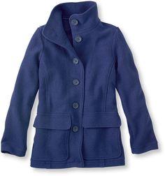 Women's Bean's Boiled Wool Jacket