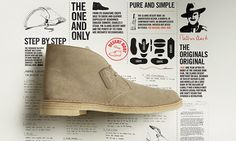 Clarks Desert Boot, Made in Engalnd package   Clarks.eu