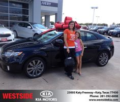 #HappyBirthday to Michelle from Pedro Gimenez at Westside Kia!  https://deliverymaxx.com/DealerReviews.aspx?DealerCode=WSJL  #HappyBirthday #WestsideKia