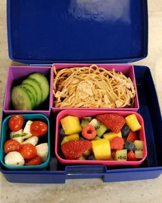 martha stewart kids lunch idea - cold noodles with peanut sauce Lunch Box Recipes, Side Dish Recipes, Lunch Ideas, Drink Recipes, Asian Recipes, Dinner Ideas, Peanut Sauce Recipe, Peanut Recipes, Peanut Sauce Noodles