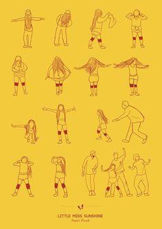 Little miss sunshine. Alternative poster.