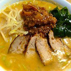 チャーシューも1から♥ - 99件のもぐもぐ - チャーシュー担々麺( ●•́ ਊ •̀●) by yukari32