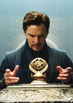 Dr Strange I can't be the only one who looks at this and thinks he needs a fedora and a bag of sand.