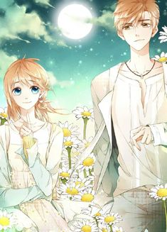Love like cherry blossoms - Xia Yi and Lu Lu Manga Couple, Anime Love Couple, Anime Couples Manga, Anime Guys, Anime Cherry Blossom, Cherry Blossom Wallpaper, Cherry Blossoms, Otaku Anime, Manga Anime