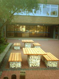 roca decorativa gavion Outdoor Furniture Sets, Outdoor Decor, Exterior, Patio, Home Decor, Decorative Pebbles, Decks, Mesas, Projects