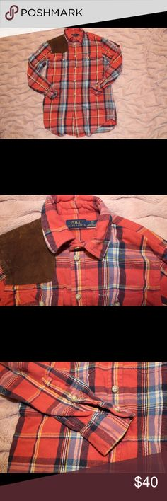 Ralph Lauren flannel Ralph Lauren flannel shirt in wonderful condition. It is very cute and is great for those chillier days. Feel free to leave an offer :) Ralph Lauren Tops Button Down Shirts