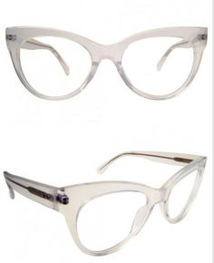 And this transparent cat eye is equal parts retro and futuristic. | 19 Essential Statement-Making Glasses Frames