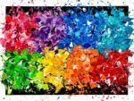 Color Spectrum   #Art #abstractart #abstractpainting #ArtGallery #Artist #Artists #Artiste #GalerieDart #Colors #Couleurs Art Gallery, Galerie D'art, Spectrum, Artwork, Painting, Colors, Artist, Paint, Color