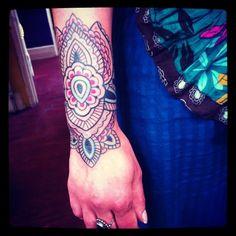 Gorgeous henna inspired tat