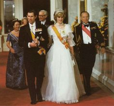 Pictures of Princess Diana in the early days of her marriage to Prince Charles…