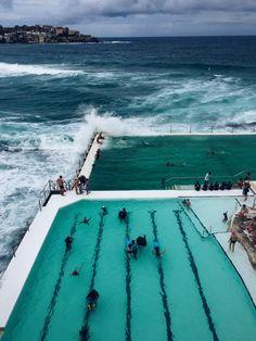 Bondi Icebergs Club, Sydney, Australia / photo by makailacavender