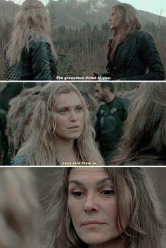 AKA, Lexa listens to you Clarke!