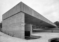 Visions of an Industrial Age // Paulo Mendes da Rocha - Brazilian museum of sculpture - Google Search