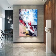 Extra Large Wall Art Original Handpainted Contemporary XL Abstract Painting Horizontal Vertical Huge Size Art Bright and Colorful Wall Canvas, Canvas Art, Canvas Paintings, Abstract Paintings, Portrait Paintings, Diy Canvas, Large Canvas, Extra Large Wall Art, Large Art