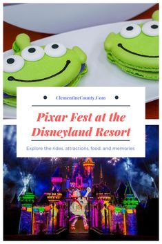 Explore the food, entertainment, and fun of Pixar Fest