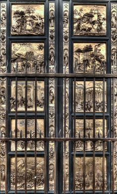 Gate of Paradise, Lorenzo Ghiberti of the Baptistery of Florence