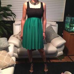 Hp T8 Empire Waist Flowy Dress