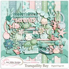 Tranquility Bay Page Kit