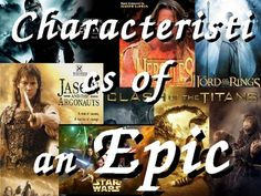 Where could I find information about the characteristics of epic language (vocabulary, narrative techniques..)
