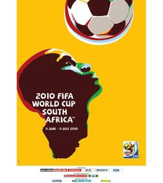 World Cup posters South Africa 2010